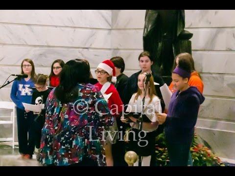 "Second Street School Choir performs ""Rockin' Around the Christmas Tree"""