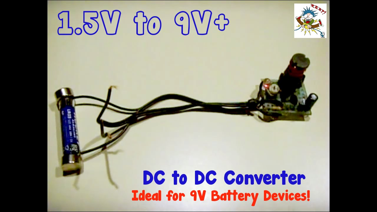 Dc To Converter15v Up 9v Youtube 5 Volts Regulator Without Transformer Using Mosfet