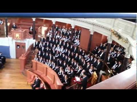 University of Oxford - Matriculation Ceremony -  Sheldonian Theater - 13.10.2012