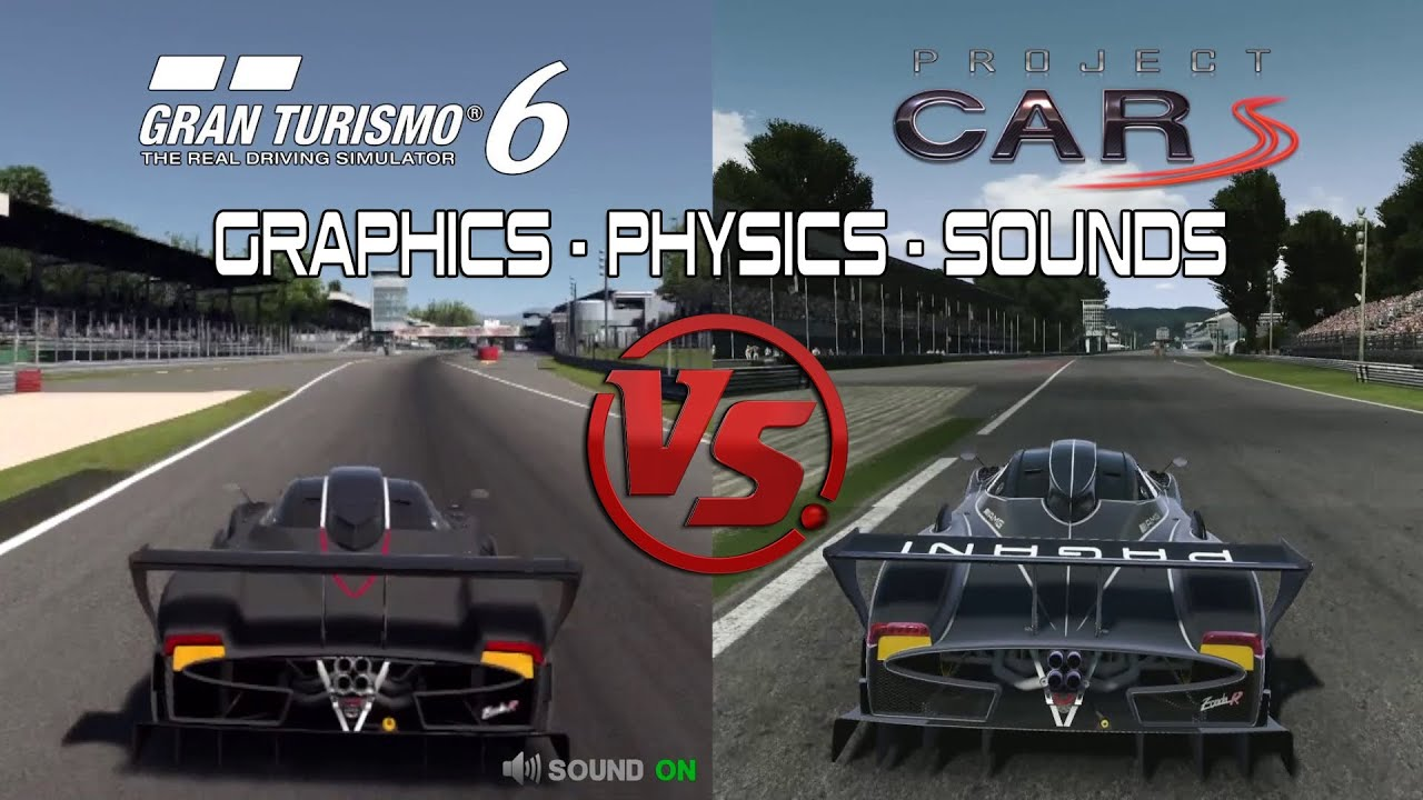 Gran Turismo 6 Vs Project Cars