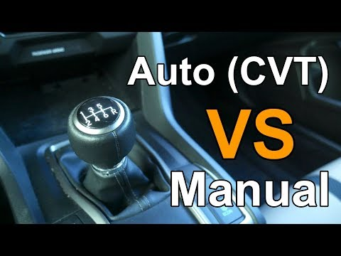 Automatic VS Manual Transmission | CVT VS 6-Speed on 10th Gen Honda Civic