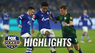 Watch highlights between fc schalke 04 and vfl wolfsburg.#foxsoccer #bundesliga #fcschalke #vflwolfsburgsubscribe to get the latest fox soccer content: http:...