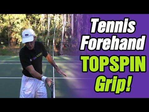 Tennis Forehand Topspin Grip  - Tom Avery Tennis