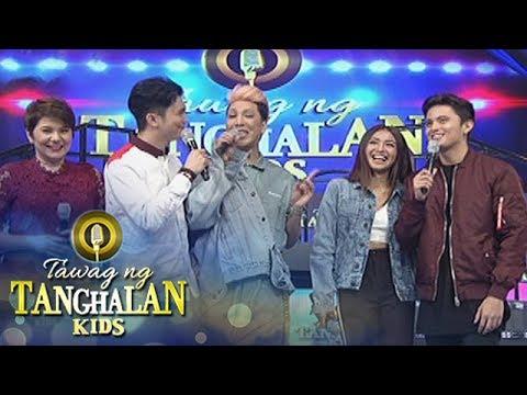 """Tawag ng Tanghalan Kids: Vice to James: """"Mahahasa ang tagalog nito"""""""