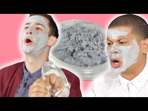Thumbnail: Men Try Bubble Face Masks