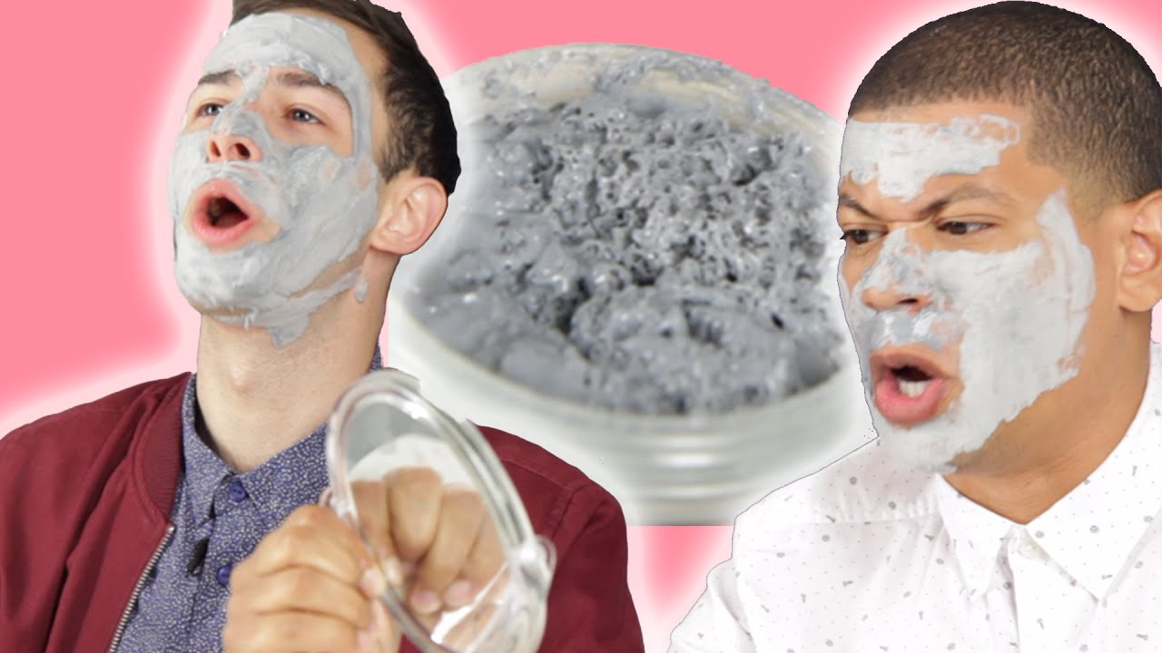 men try bubble face masks youtube