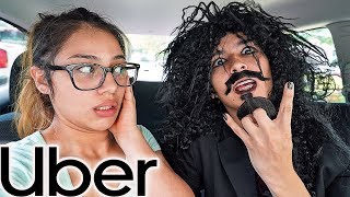 Picking My Girlfriend Up In An Uber In Disguise!!