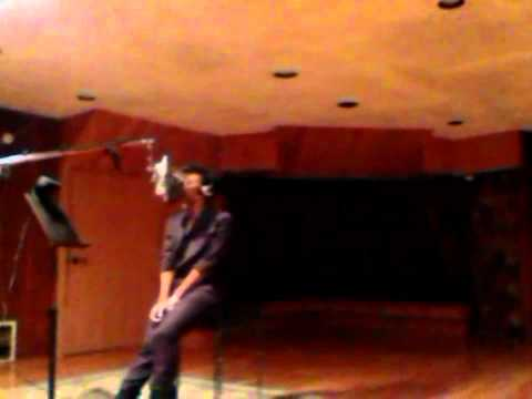 Dawn Richard In The Studio Laying Down Vocals