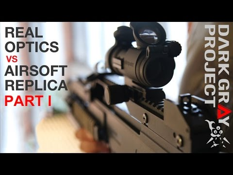 Real Sights vs. Fake Airsoft Sights - Part 1/2 - Dark Gray Project