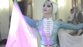Балкарский девичий танец. Танцует солистка