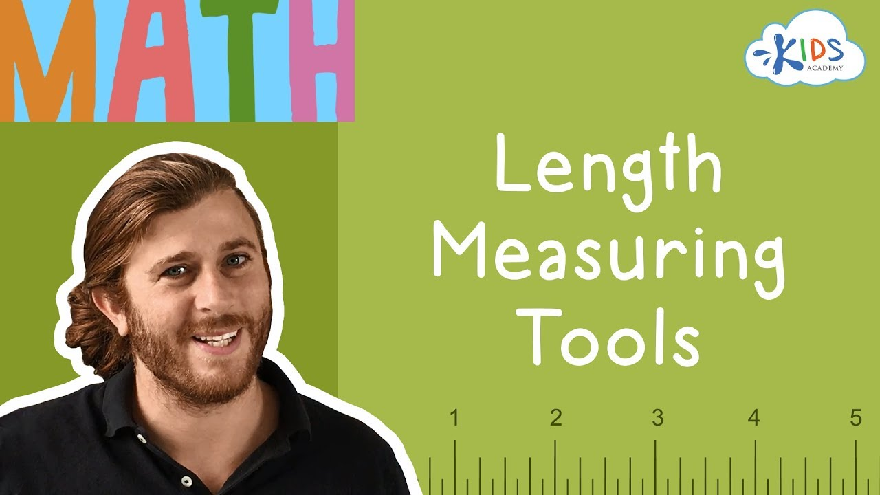 medium resolution of Measuring Length for Kids   Measuring Tools   Math for 2nd Grade   Kids  Academy - YouTube