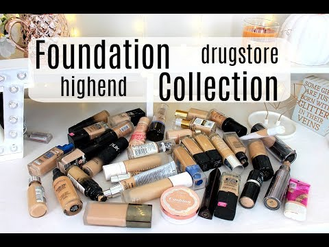 Foundation Collection | DRUGSTORE + HIGHEND | TOP FAVS