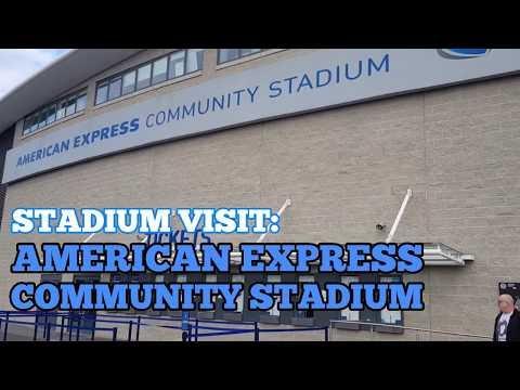 STADIUM VISIT: The American Express Community Stadium: Home of Brighton & Hove Albion Football Club