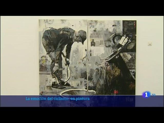 Noticia Informativo TVE. EXPOSICIÓN CICLISMO MIGUEL SORO