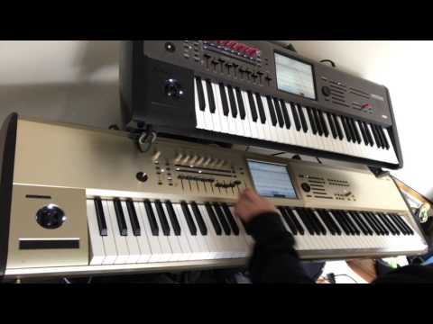 Billie Jean Michael Jackson Korg Kronos  Keyboard Synth Sounds