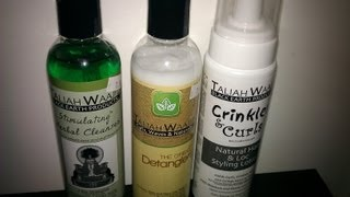 Taliah Waajid hair products review