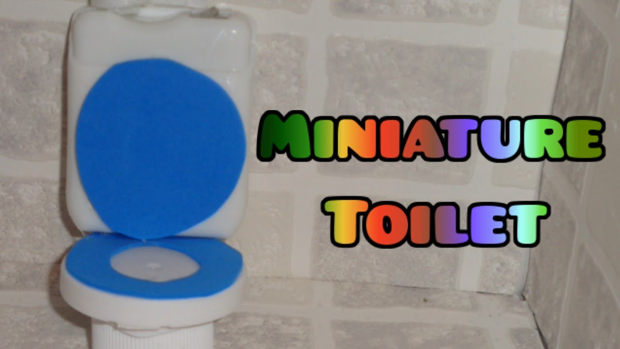 Miniature Toilet - DIY LPS Crafts, Easy Doll Crafts & Dollhouse ...