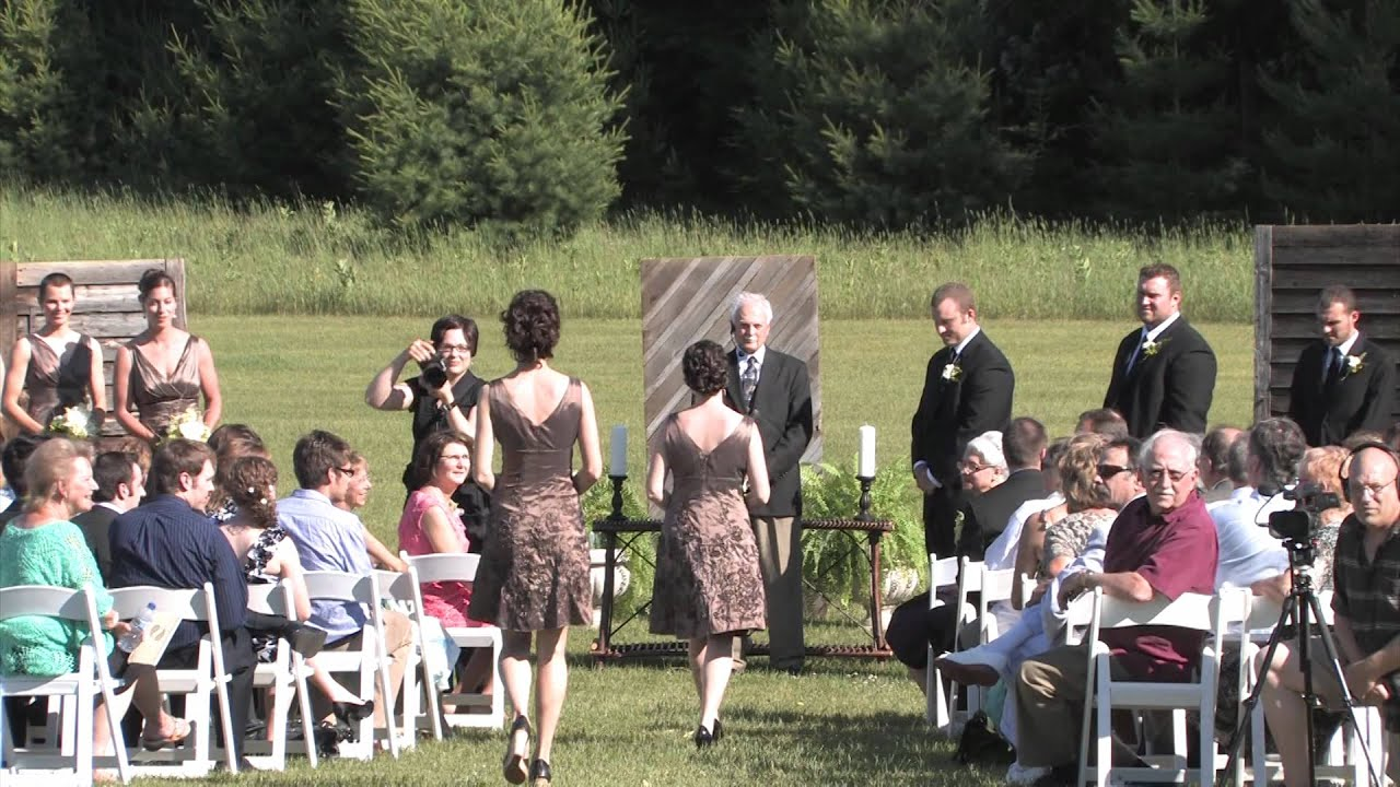 Outside wedding youtube outside wedding junglespirit Choice Image
