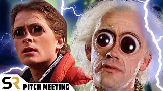 Back To The Future Pitch Meeting