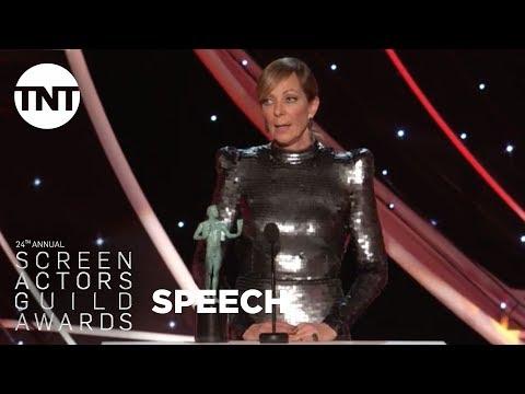 Allison Janney: Acceptance Speech | 24th Annual SAG Awards | TNT