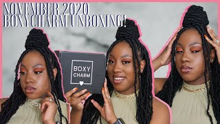 NOVEMBER 2020 BOXYCHARM UNBOXING! OVER $150 WORTH OF PRODUCTS! | PIECES OF CEE