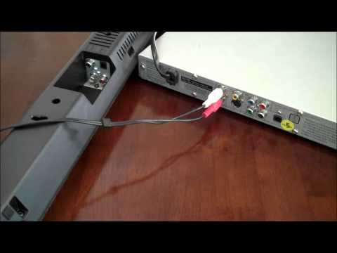 How to Connect The Subwoofer To Your HW-M450 Flat Soundbar from YouTube · Duration:  1 minutes 20 seconds
