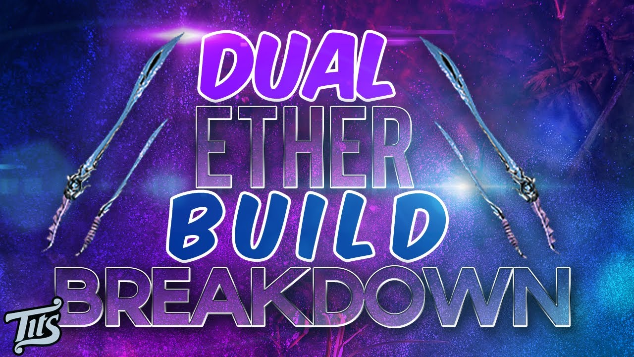 Warframe 83 Dual Ether Charge And Slide Attack Build Breakdown