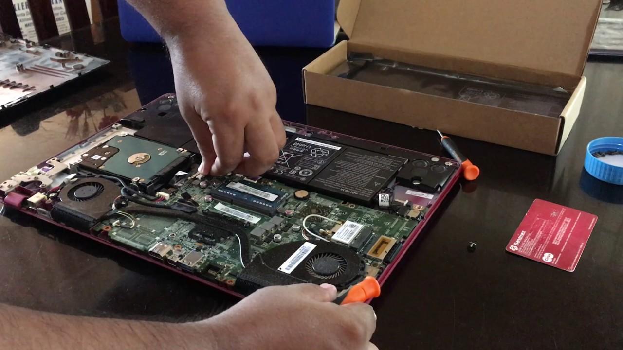 Cambiar Batería Interna De Laptop Acer V5 Youtube