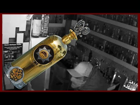 Thief Caught On Video Stealing World's Most Expensive Bottle Of Vodka