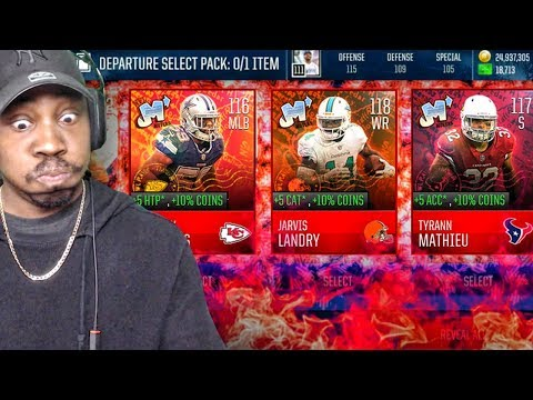 NEW NFL MOVERS PACK OPENING & SETS W/116 OVR ARRIVAL MASTERS! Madden Mobile 18 Gameplay Ep. 44
