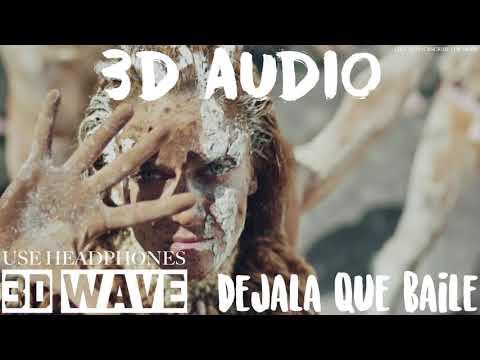 Melendi Con Alejandro Sanz & Arkano - Déjala Que Baile | 3D Audio (Use Headphones)