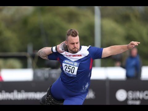 Men's shot put F42 | 2014 IPC Athletics European Championships Swansea