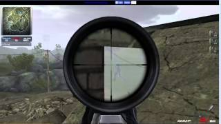 Contract wars : the hell with AWM-F sniper (long shot !!)