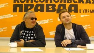 режиссер театра КРоТ Андрей Критенко и актер театра и кино Евгений Капорин. - 1