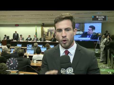 Moro condena Eduardo Cunha a 15 anos e 4 meses de prisão - SBT Brasil (30/03/17)