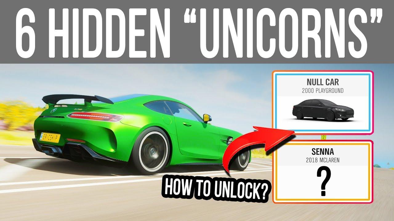 Forza Horizon 4 - 6 Hidden *Unicorn* Cars you will NEVER have!