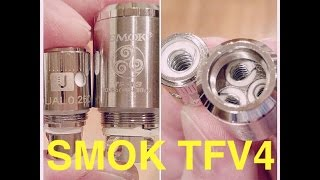 SMOK TFV4 Giveaway/Review!