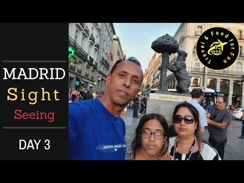 Spain Day 3 - Madrid Sightseeing, Royal Palace, Sabatini Gardens, Prado Museum, & Puerto Del Sol from YouTube · Duration:  13 minutes 3 seconds