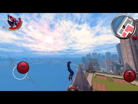 Amazing spiderman Android gameplay