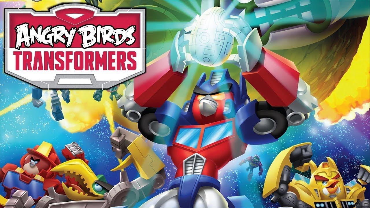 Игра злые птички роботы