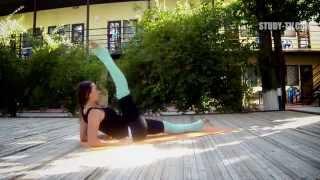 Как сделать ноги прямыми, вытянутыми как у балерины?