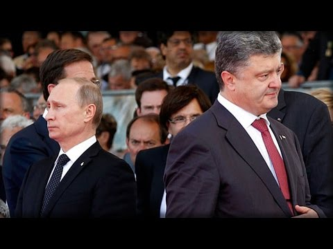 PUTIN HAS NO INTENTIONS TO MEET WITH UKRAINE PRESIDENT POROSHENKO