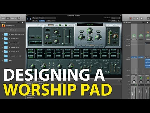 Designing A Worship Pad from Scratch in MainStage 3- EXS24