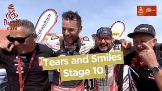 Short clips - Tears and Smiles/ Larmes et Sourires - Stage 10 (Pisco / Lima) - Dakar 2019