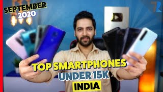 Top 10 Best Android Smartphones Under Rs.15,000 in India🔥🔥🔥 [SEPT 2020]