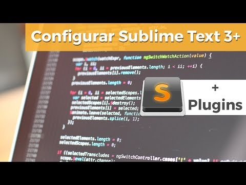 Configure and Work with Sublime Text 3 + Recommended PluginsKaynak: YouTube · Süre: 35 dakika23 saniye
