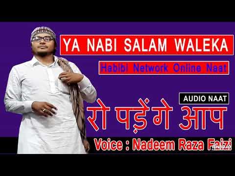 YA NABI SALAM WALEKA ➪ Nadeem Raza Faizi Beautiful Naat