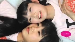 廣田あいかと柏木ひなたのおやすみ前動画です!! 見てるだけでほっこり...
