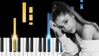 Ariana Grande - needy - Piano Tutorial / Piano Karaoke (with Lyrics)