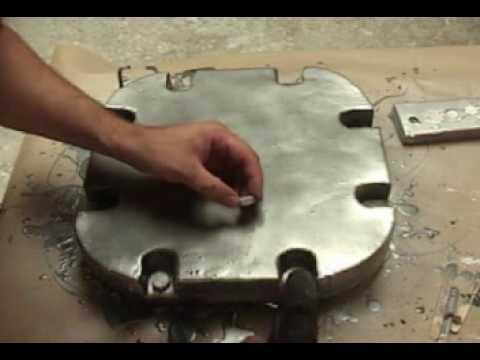 Resin coating Styro-Foam Props
